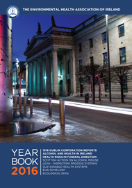 Environmental Health Agency of Ireland Yearbook 2016