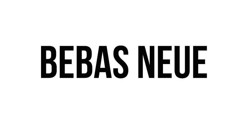 Bebas-Neue font