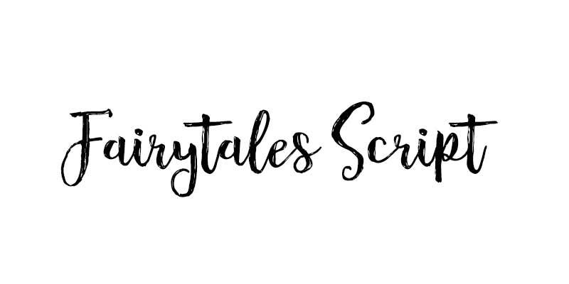 Fairytales-Script font