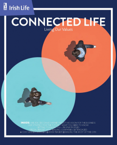 Cover of Irish Life Connected Life Magazine