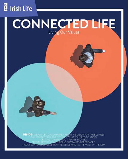 Cover of Irish Life Connected Life Magazine