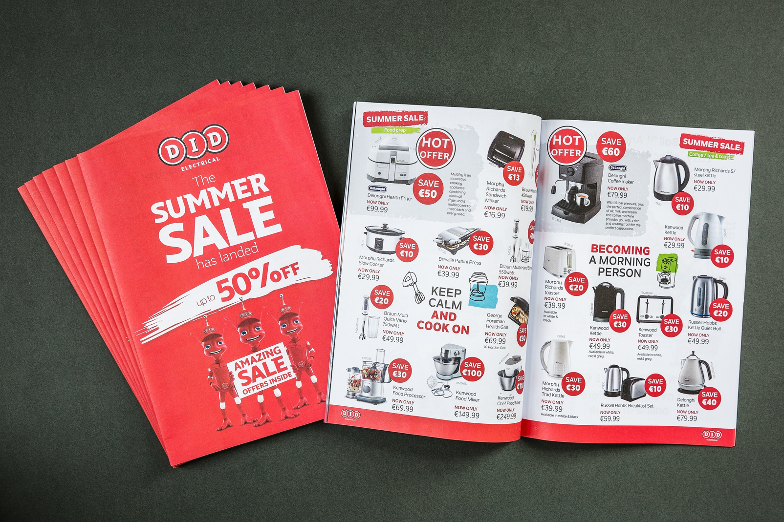 Picture of summer brochure