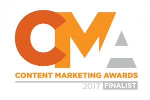 Content Marketing Awards 2017 Finalist