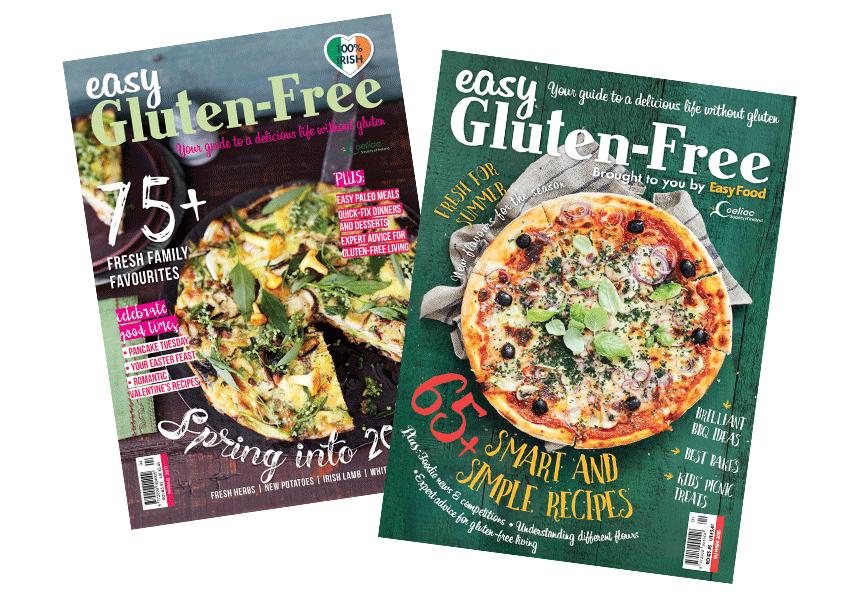 Zahra Media Group- design studio - Easy Gluten-Free Magazine