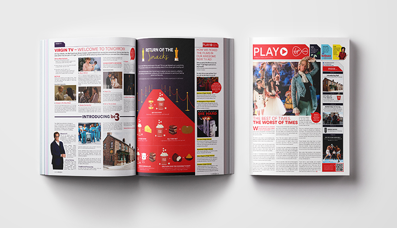Zahra Media Group- design studio - Play Magazine