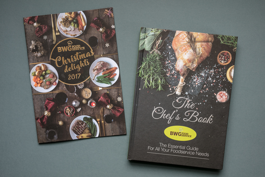 BWG Chef's Book and Christmas Brochure