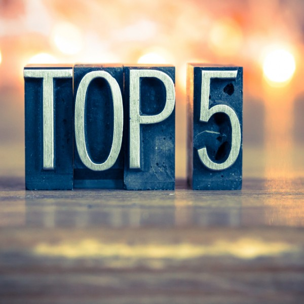 top 5 blog posts 2017
