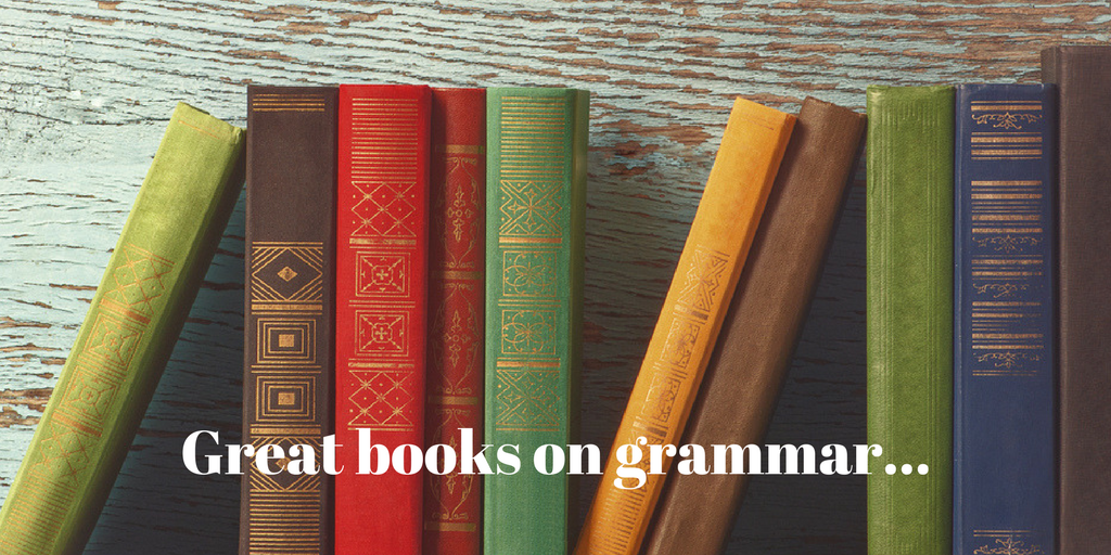 Great books on grammar...